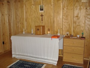 chapel in cabin