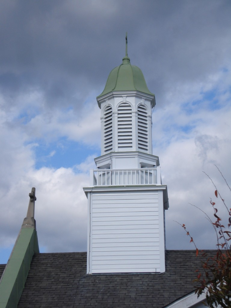 Steeple after renovation