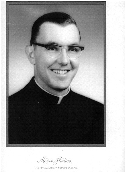 Father Blain's ordination picture - before the beard